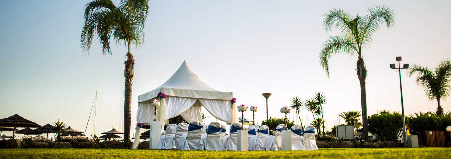 Book your wedding day in St Raphael Resort Limassol
