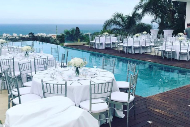 Book your wedding day in Bay View Villa
