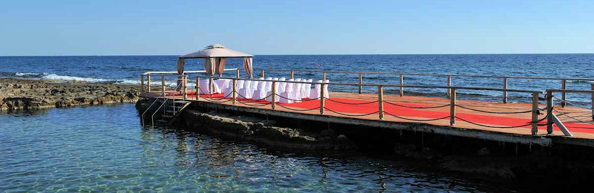 Book your wedding day in Cypria Maris Beach Hotel & Spa Paphos